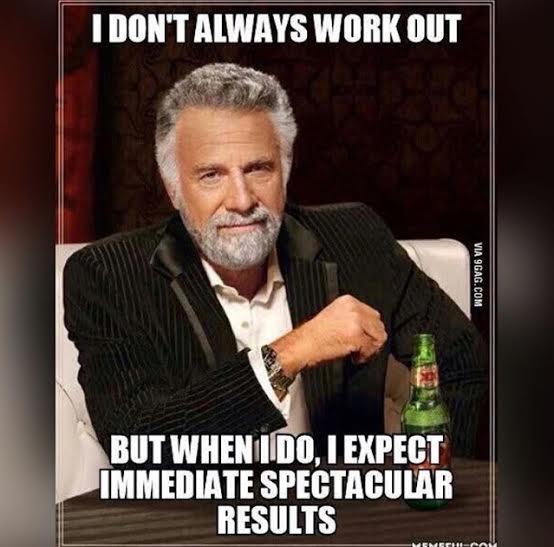 Workout Meme