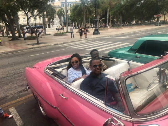 Convertible Tour through Havana