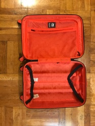 iZak Carry on Luggage with lock $59.99