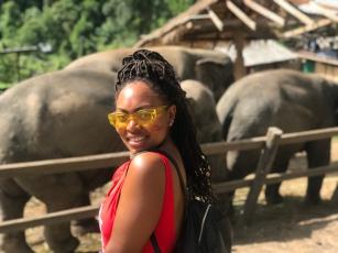 Me and Elephants